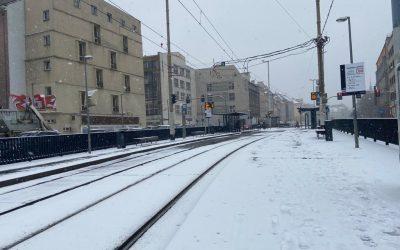Śnieg we Wrocławiu