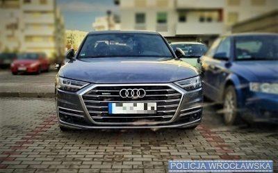 odzyskane Audi