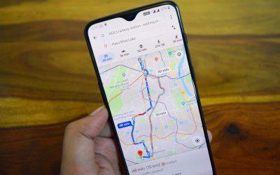 Aplikacja Mapy Google