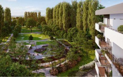 Wizualizacja Parku na Kępie Mieszczańskiej