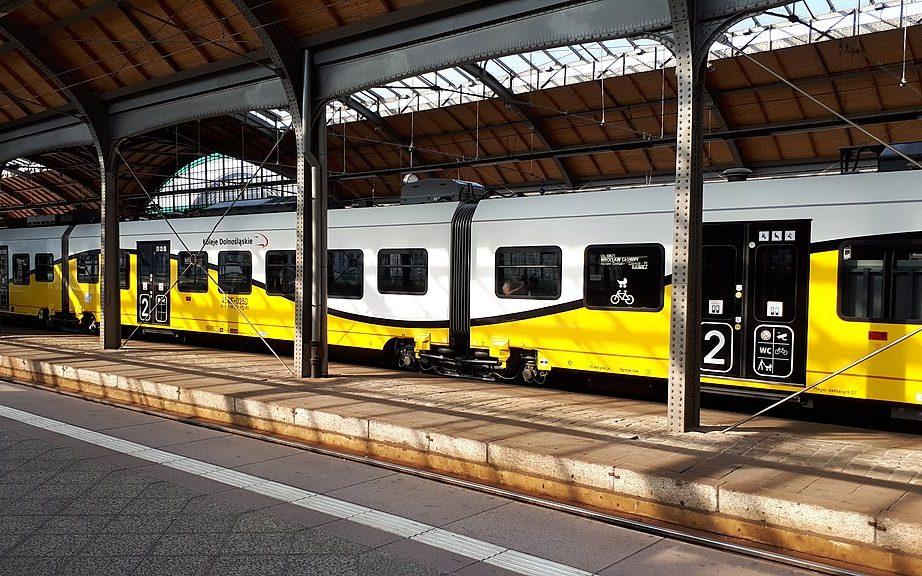 Pociąg Koleje Dolnośląskie
