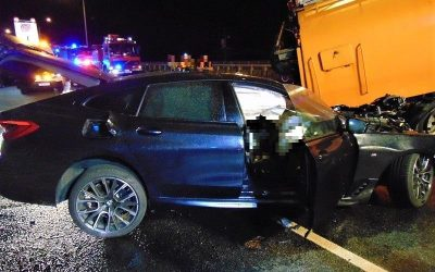 AOW wypadek BMW